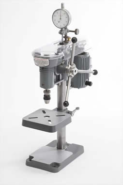 "Cameron MD164 with Dial Indicator and 1/16th"" Albrecht chuck Precision Sensitive Manual Micro Drill Press"