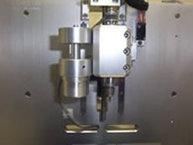 Cameron VEF 100 Video Edge Finder mounted on CNC E Machine